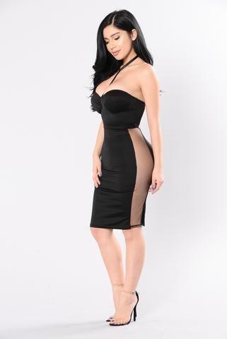Watch Me Unfold Dress Black Dresses For Moi Dresses Club