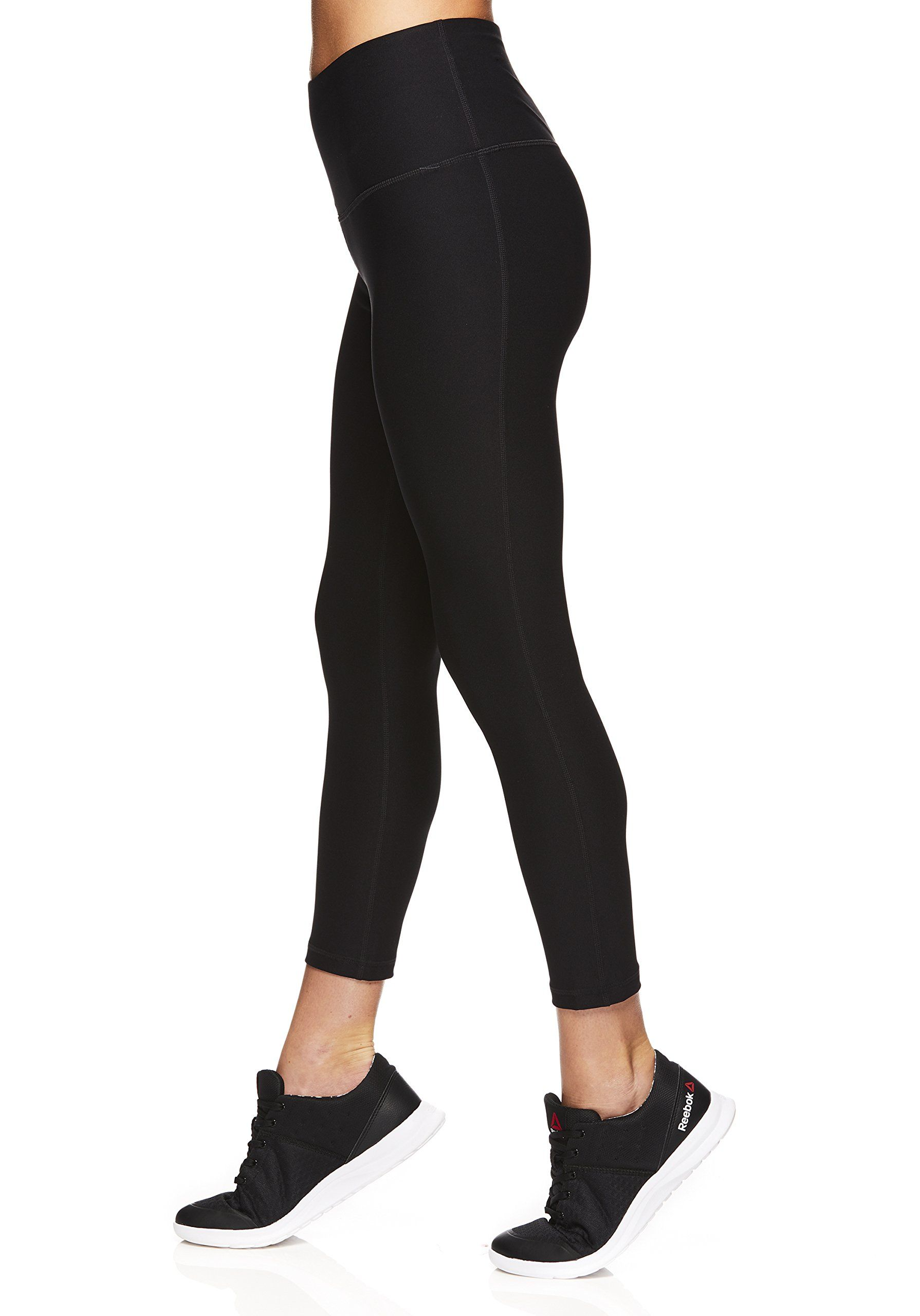 Reebok Womens Capri Leggings with HighRise Waist Performance Compression  Tights     See this great product. (This is an affiliate link and I receive  a ... 140bc5a29