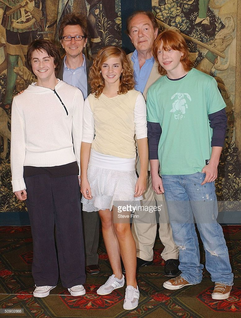 Harry Potter And The Prisoner Of Azkaban Photocall Photos And Premium High Res Pictures Harry Potter Cast The Prisoner Of Azkaban Harry Potter