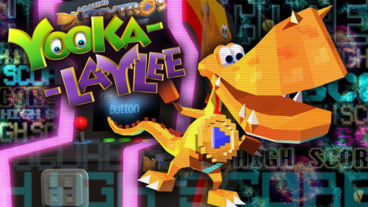 YookaLaylee Multiplayer and Coop Video games pc, Video