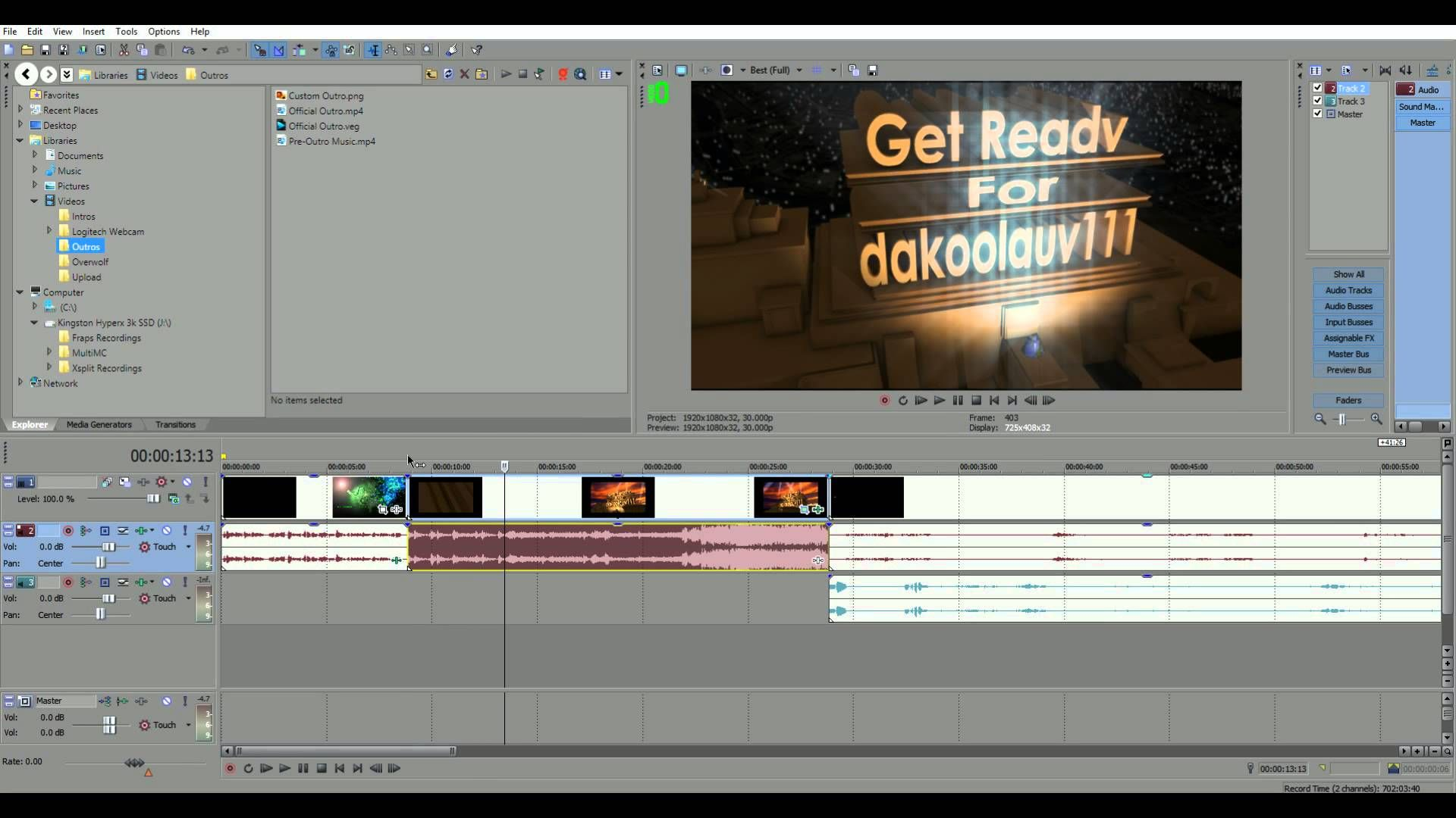 Sony Vegas Pro 12: All Tips and Tricks: How To Edit Like A Boss