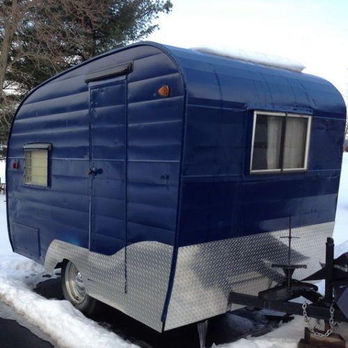Travel Trailers With Outdoor Kitchens: Vintage 1963 Shasta Camper/trailer 13ft