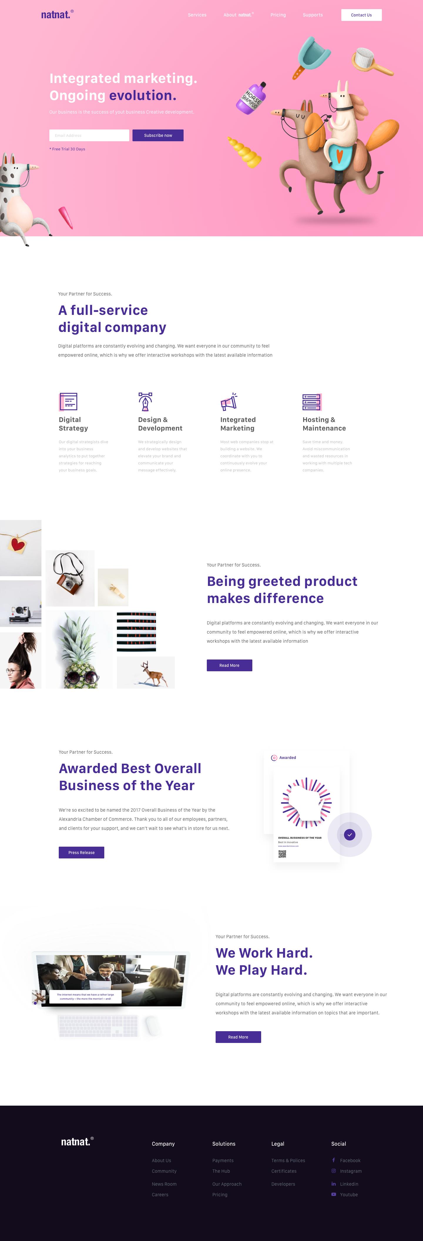 Landing Page Marketing Agency Evolution Web Design Agency Web Design Web Design Quotes