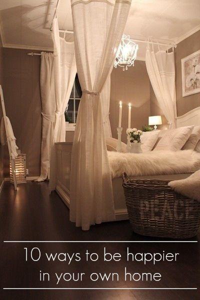 Be Happier In Your Home Home Bedroom Bedroom Romantic Bedroom