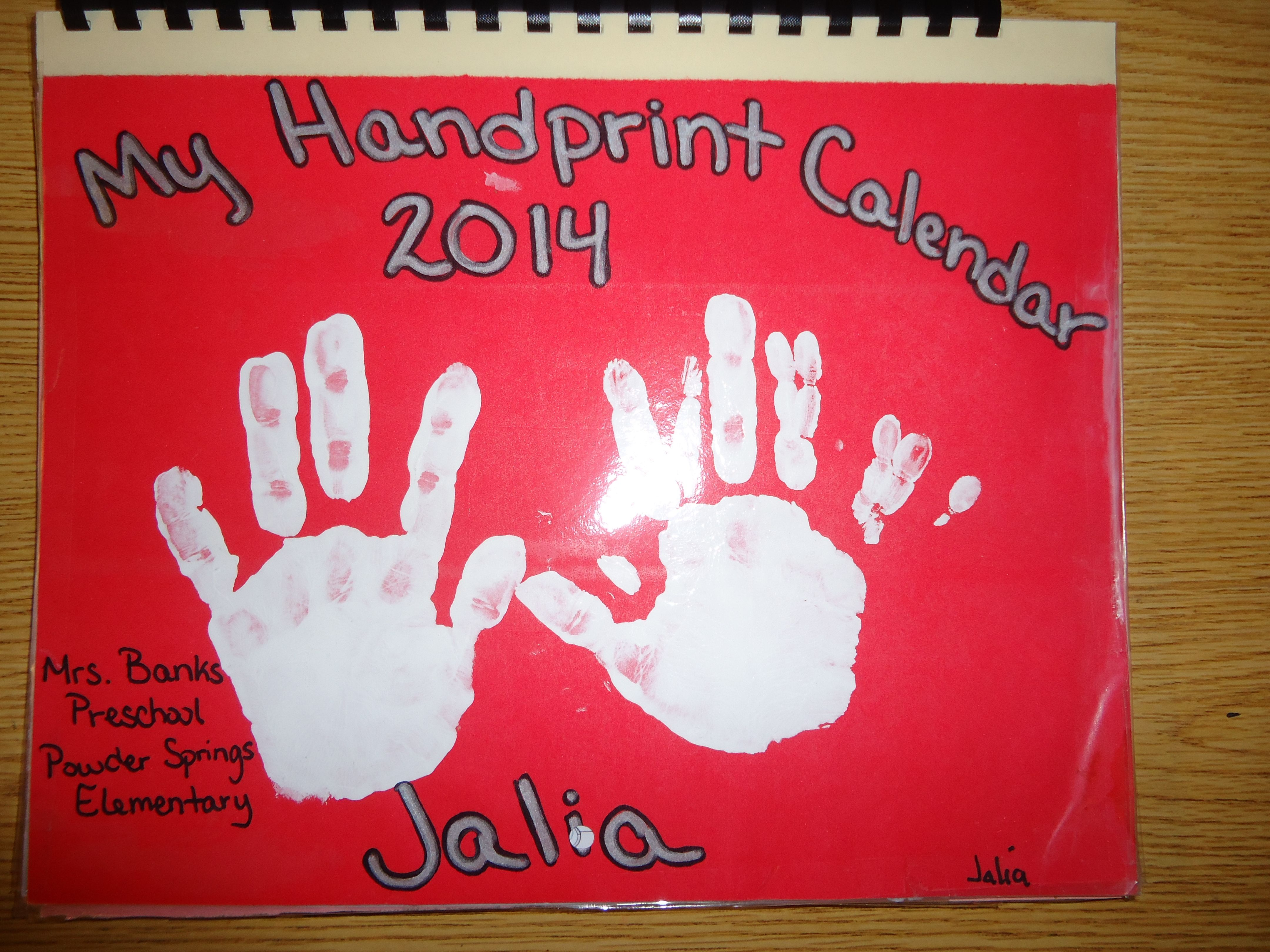 Christmas Gifts For Parents Handprint | www.topsimages.com