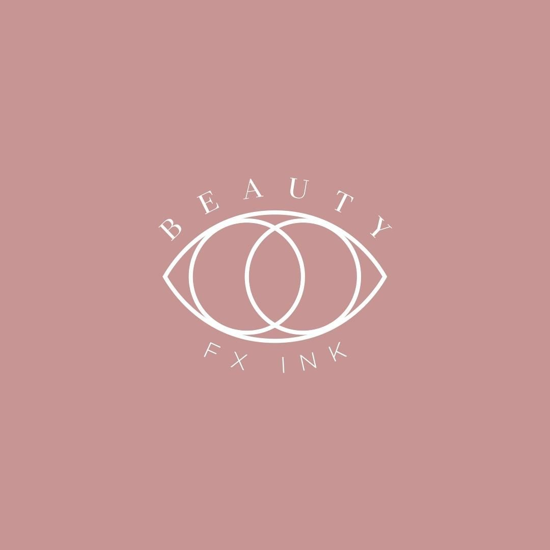 Logo Discover Beauty Fx Logo Animation We Made This Logo For Khristine At Beauty Fx The Two Circles Overlap In 2020 Graphic Design Beauty Logo Logo Design Inspiration