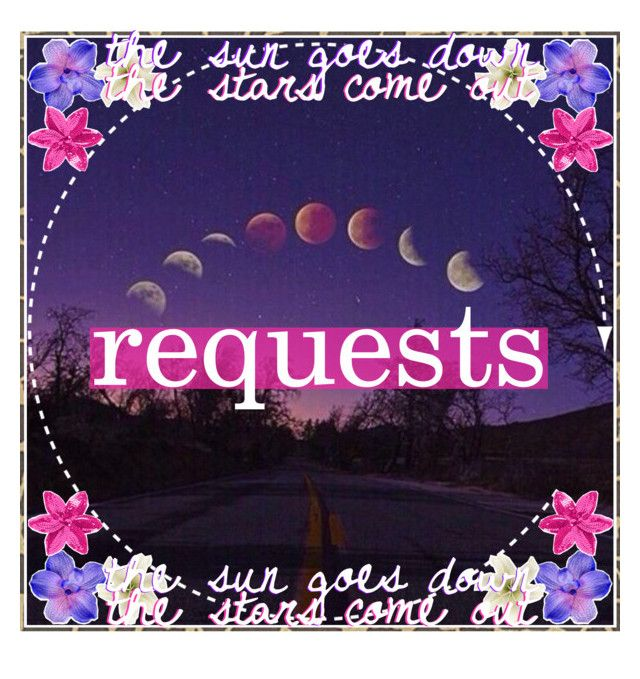 """&&✩; requests"" by starlight-icons ❤ liked on Polyvore featuring art, katcatsicons, starlightshowcase and starlightrequests"