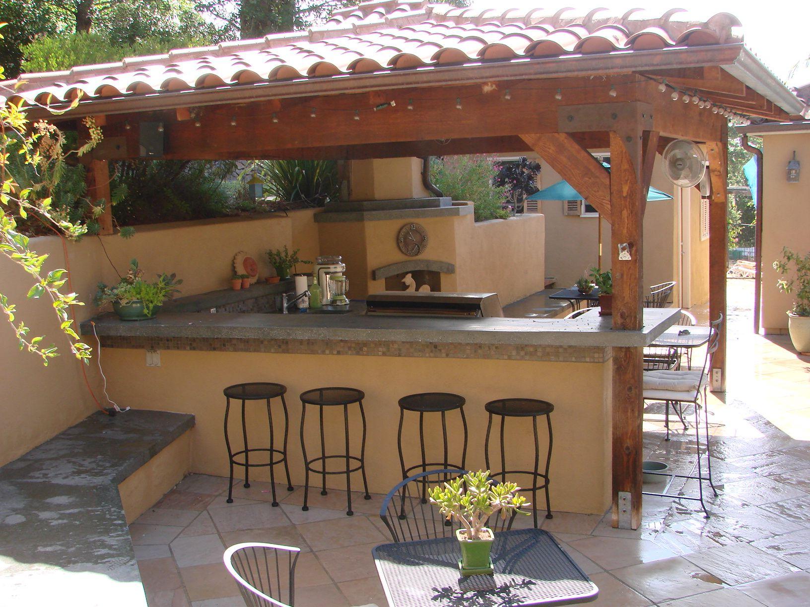 Outdoor Kitchen By West Bay Landscape Co San Jose California Patio Y Jardin Decoracion Patios Patios