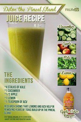 ...Detox the Pineal Gland Juice Recipe