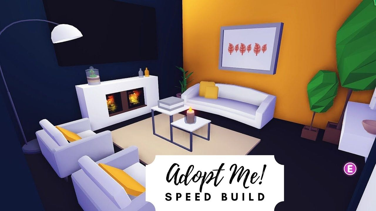 Modern Family Home Speed Build Roblox Adopt Me Youtube Cute Room Ideas Modern Family Home Roblox
