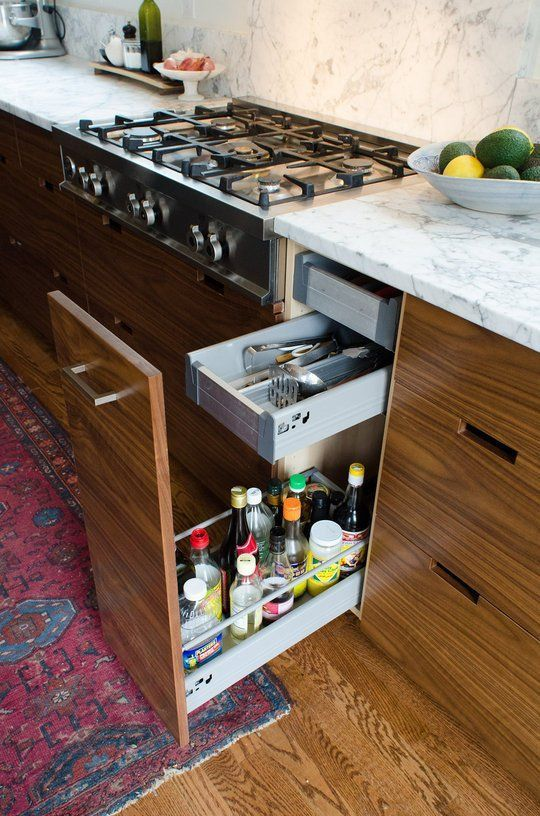 More Nifty Drawer Storage Ideas From Faith S Kitchen Renovation