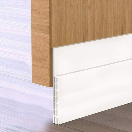 Upgraded Door Draft Stopper Heavy Duty 3 2 5 Extra Wide Door Draft Stopper Doorstops Ebay Link In 2020 Door Sweep Door Draught Stopper Door Draft