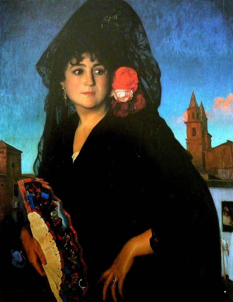 """""""Abril"""" Obra de Jose María Rodriguez Acosta (1915)"""