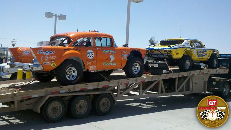 Legends of Baja Off Road Racing: The 1957 Chevrolet was introduced by the Chevrolet division of General Motors in September, 1956. The recently restored #609 took the win in 2013 for General Tire in the very competitive Vintage Production Sedan category. http://www.instant-mex-auto-insur.com/baja-log/index.php?id=baja-offroad-racing