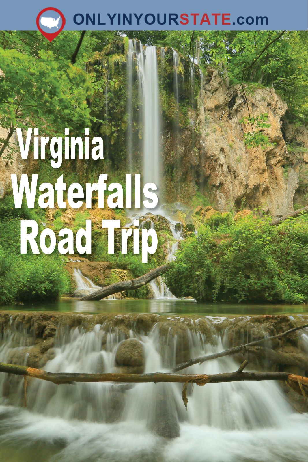 The Ultimate Virginia Waterfall Road Trip Will Take You To