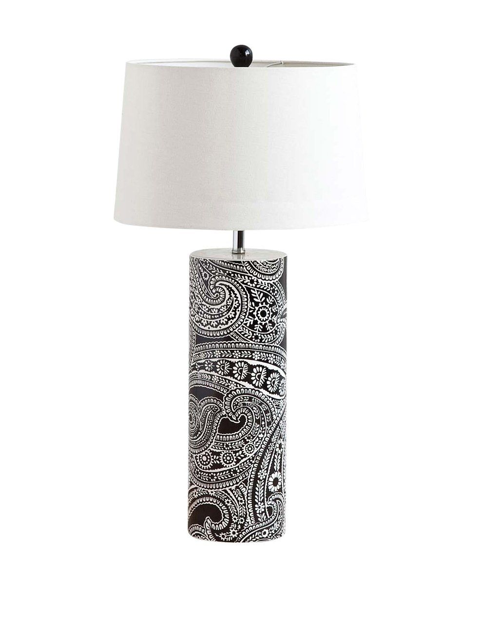 Mercana Mucura I 1-Light Table Lamp, Black at MYHABIT