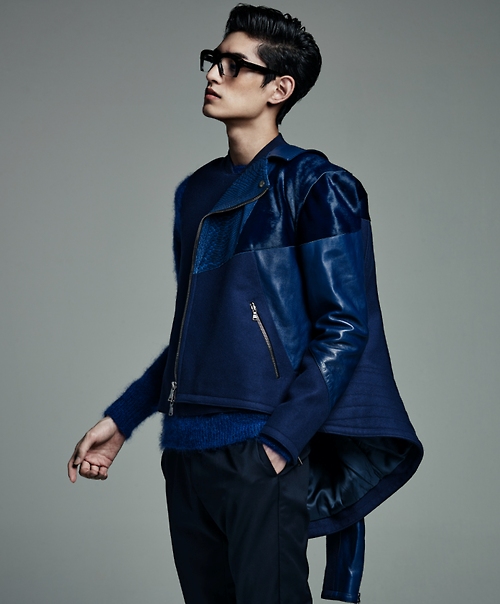 Kim Tae Hwan By Yoo Younggyu For L'Officel Homme Korea Oct