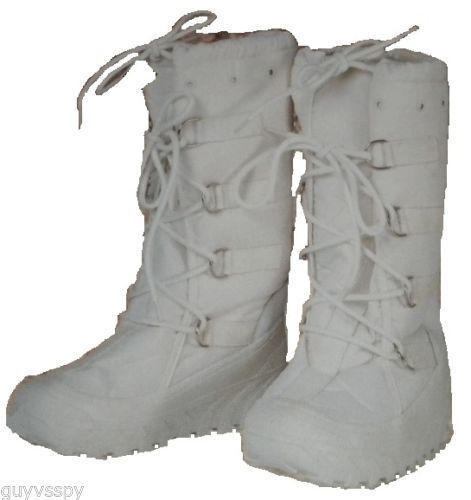 New Mens Italian Military Tall White Winter Snow Boots Cold Weather Gloves  Mask  IGLOOSABA  SnowWinter c596a57c16ea
