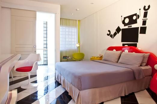 Space Pop Room At The Stevie 6 Hotel Bandung Photo