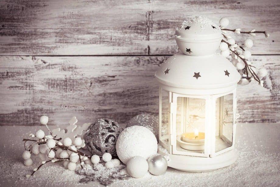 Shabby Chic Natale : Decorazioni tavola di natale in stile shabby chic decorazioni in