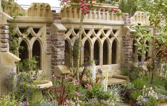 Is It Wrong That I Want A Redstone Garden Folly In My Happy Place? Gothic  Onlyu2026