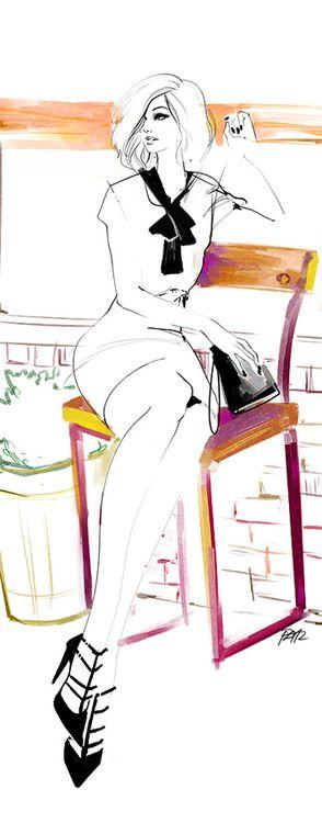 Pat Chiang Illustrations