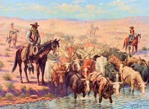 Portland Chisolm Trail History Trail Of Tears Cowboy Art