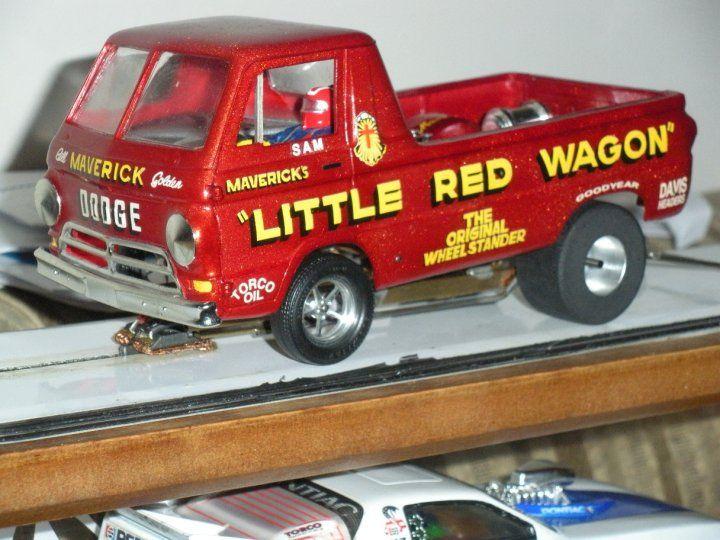 Sam's Little Red Wagon | Drag Racing Slot Cars | Pinterest ...