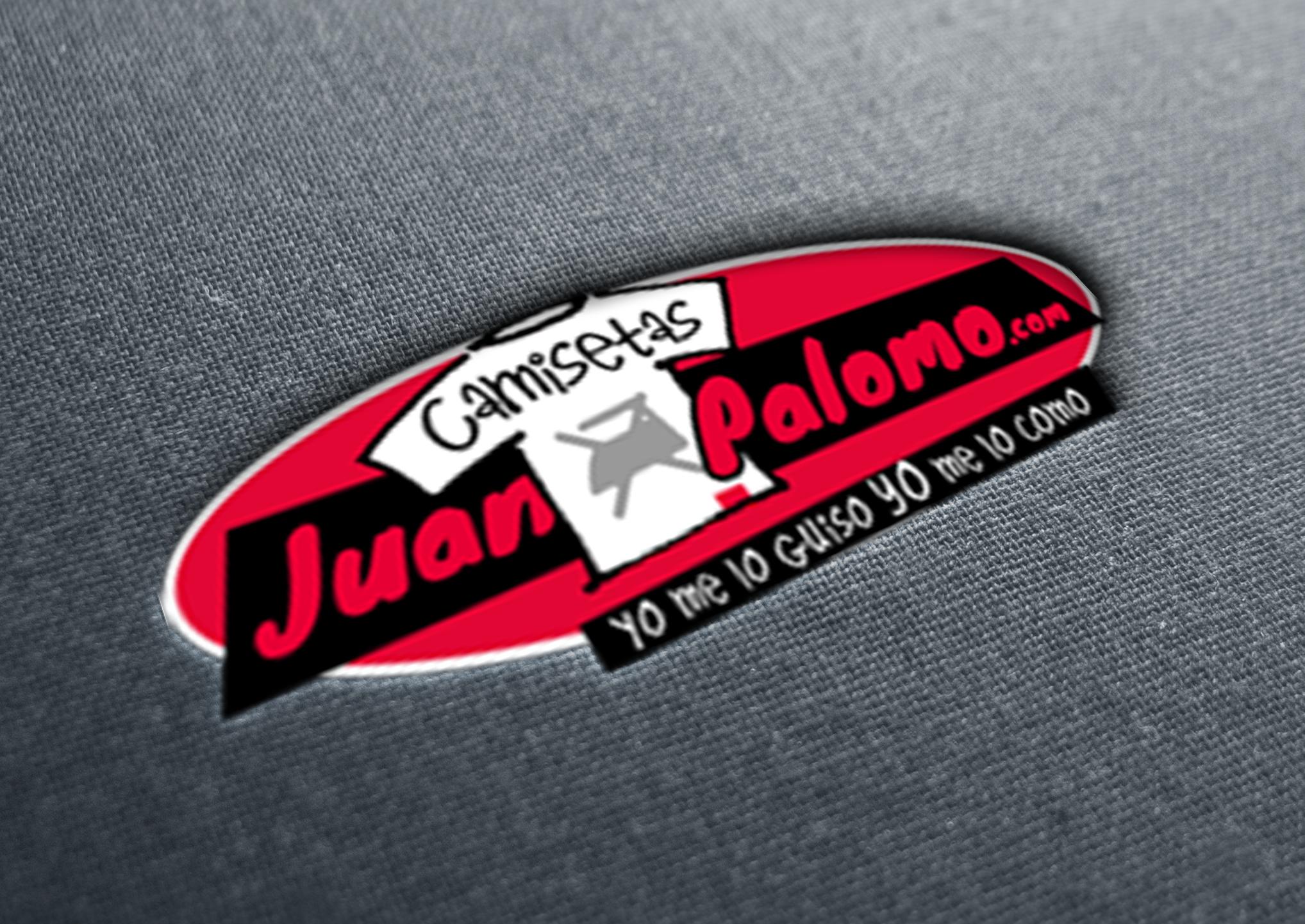 Diseño de Logotipo para camisetas Juan Palomo