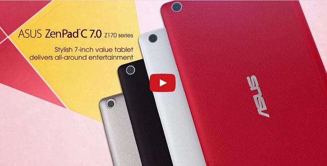 ZenPad C 7.0 Tanıtıldı!