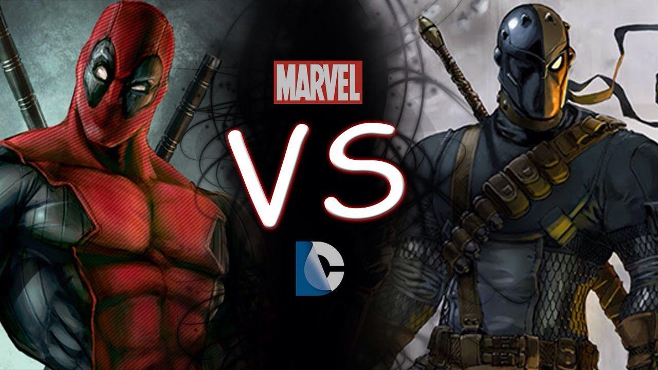 Deadpool Vs Death Stroke