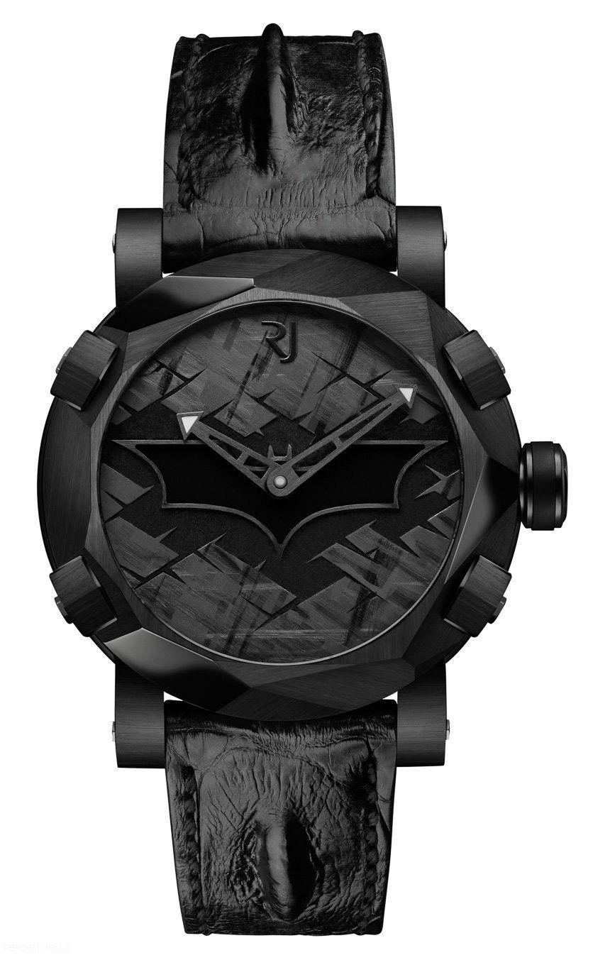 Romain Jerome Batman DNA watch black