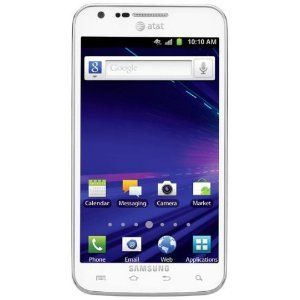 white samsung galaxy phones. samsung galaxy s ii skyrocket 4g android phone, white (at phones