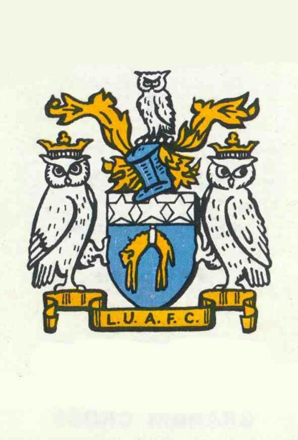 Leeds Utd crest in 1971.