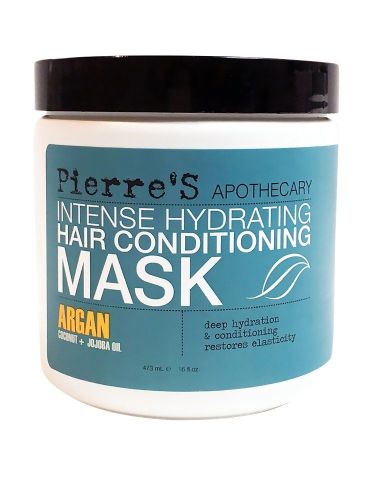 Pierre s Apothecary intense Hydrating Hair Conditioning Mask Argan Coconut  Jojoba Oil 16 Oz   You can get more details by clicking on the image. 5c441265edee