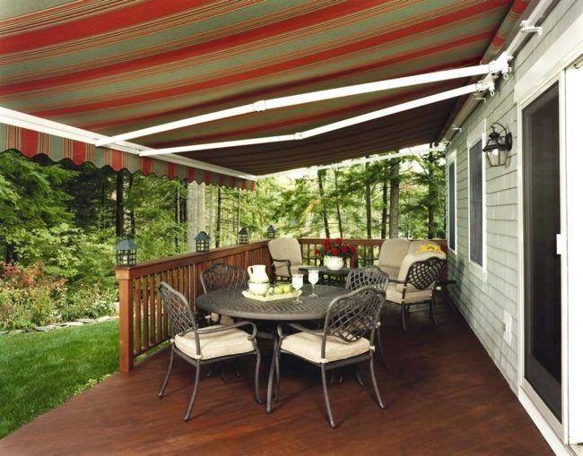 backyard awning ideas