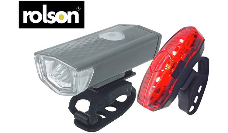 Buy Rolson Usb Rechargeable Front And Rear Bike Light Set Bike