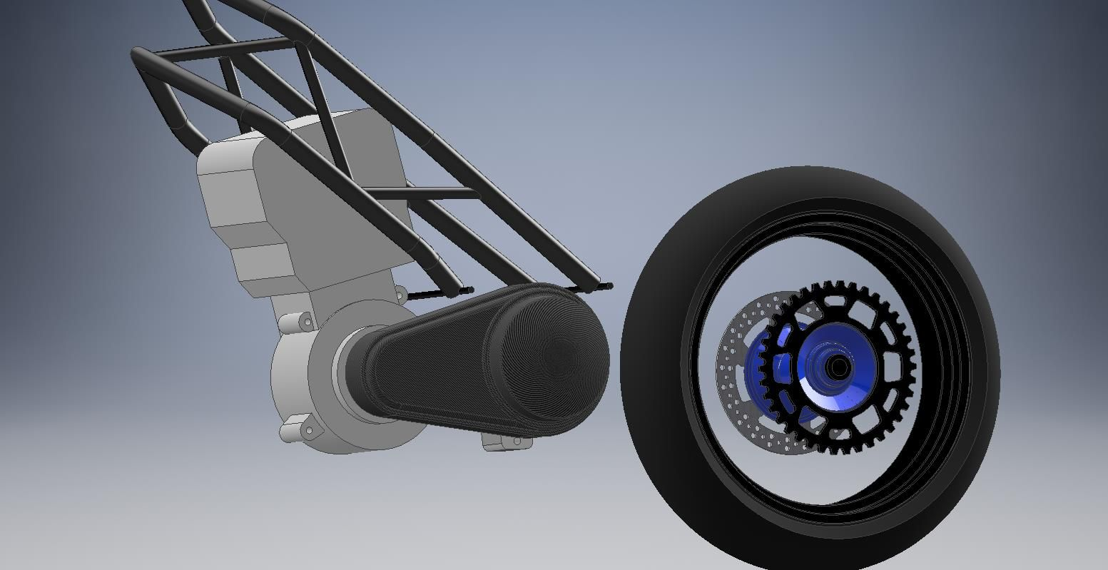 Starting up the project with some 3D CAD modeling.