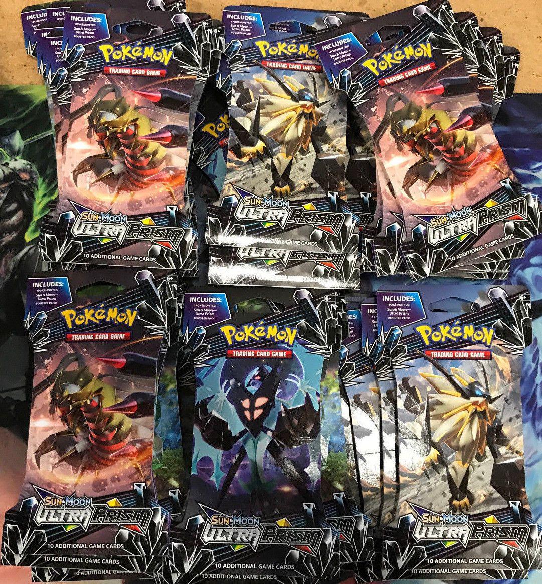 36x pokemon tcg cards sm5 sun moon ultra prism booster