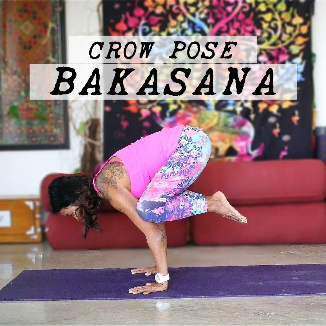 How to do Bakasana - Crow Pose   The way you are, Yoga