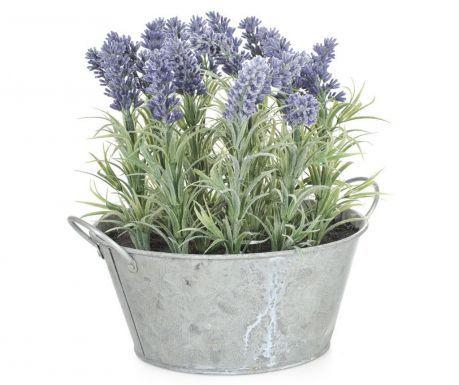 Изкуствено цвете в саксия Lavender Purple