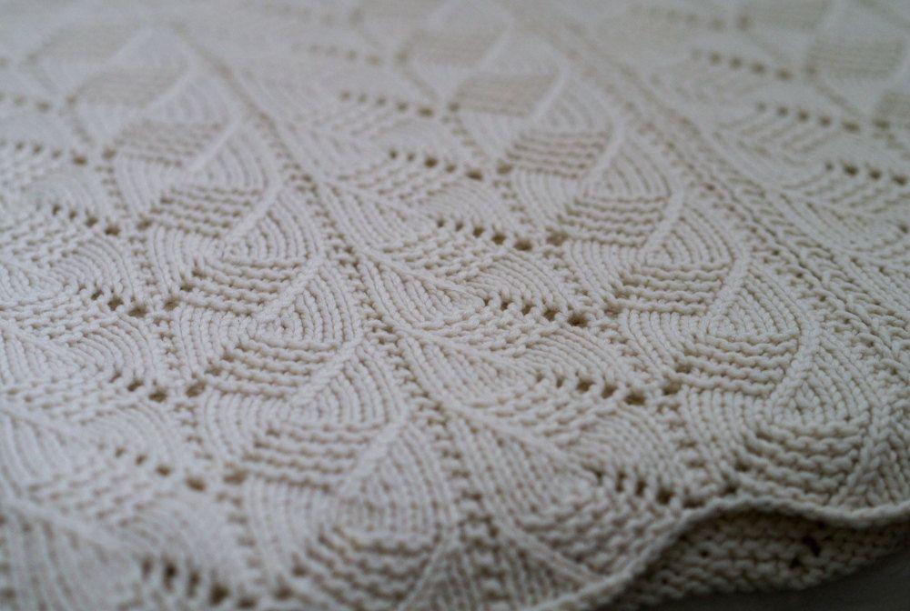 Knitting Pattern: Gacoco Baby Blanket pattern PDF instant download ...