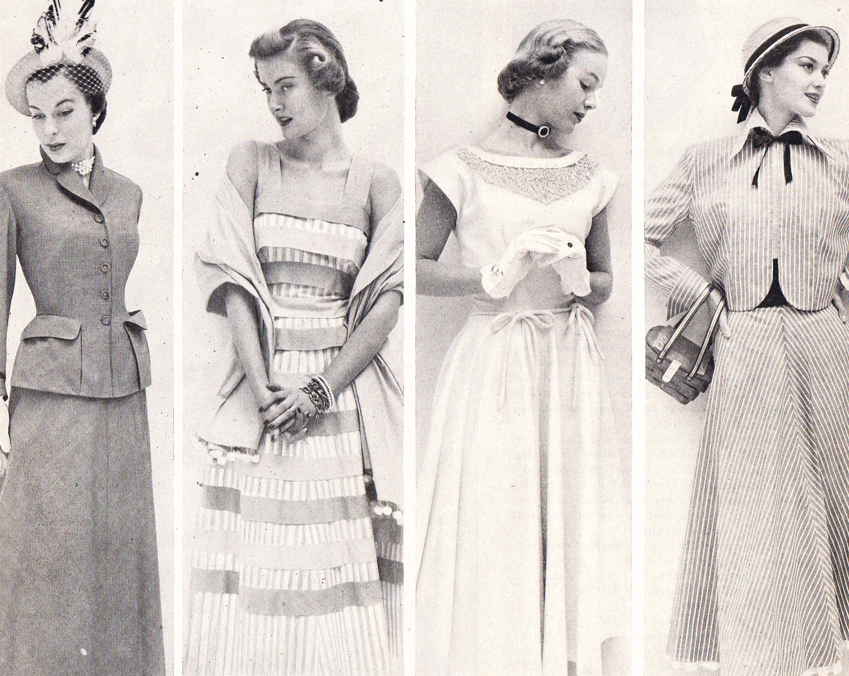 1940's juniors' fashion   Vintage Fashion   Pinterest ...