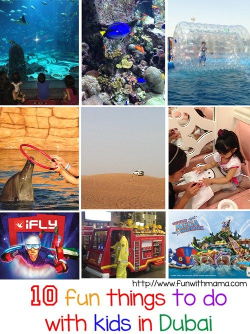 10 Things To Do In Dubai With Kids Kids Vacation Kids Things To