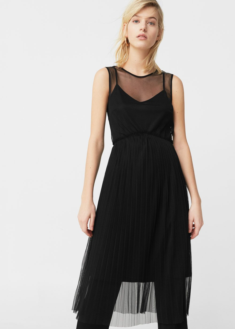 Vestido falda tul - Mujer  45cd68890217