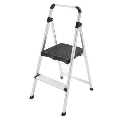 Sensational Easyreach By Gorilla Ladders 2 Step Ultralight Aluminum Lamtechconsult Wood Chair Design Ideas Lamtechconsultcom