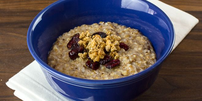 Pressure cooker steel cut oats and red river cereal recipe recipes oatmeal ccuart Image collections