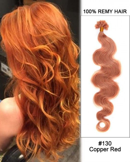 Wholesale 18 24 130 Copper Red Body Wave 100 Remy Hair Human