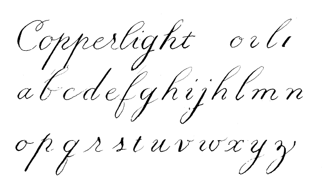 image about Calligraphy Letters Printable known as printable calligraphy alphabet - this just one is Wonderful for remaining