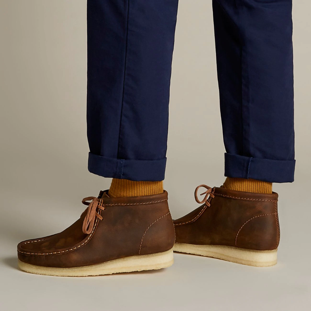 Wallabee Boot Beeswax - Clarks® Shoes